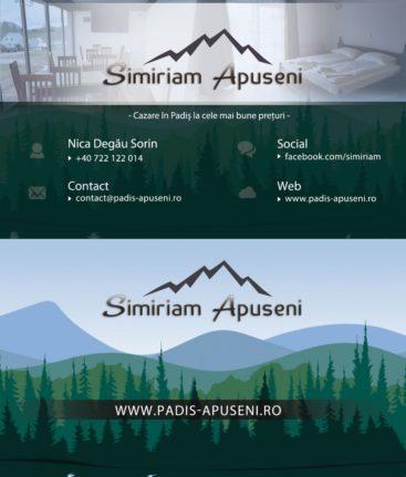 Carte de vizita - Simiriam