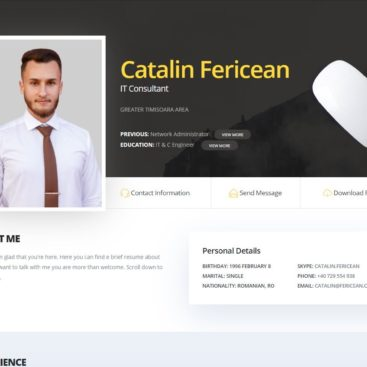 Website fericean.com